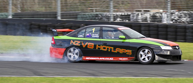 400kw Holden NZV8 Hot Laps