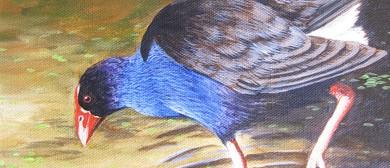 Pukeko Painting Workshop for Beginners