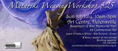 Matariki Weaving Workshop
