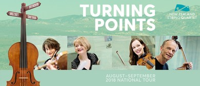 Turning Points - New Zealand String Quartet