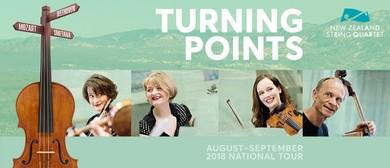 Turning Points - New Zealand String Quartet