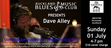 Auckland Blues Music Club - Dave Alley