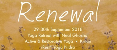 Renewal, Spring Yoga Weekend Retreat with Neal Ghoshal