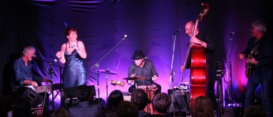Laura Collins and the Back Porch Blues Band at Cafe Royale