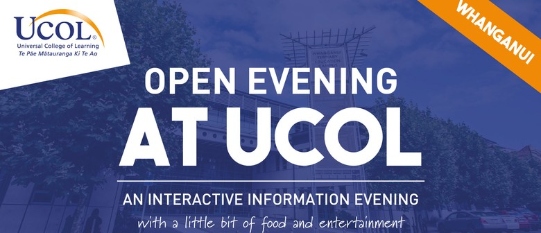 Open Evening at UCOL: An Interactive Information Evening