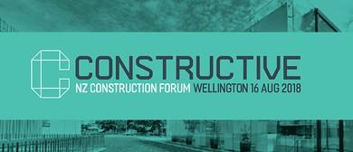 Constructive: NZ Construction Industry Forum
