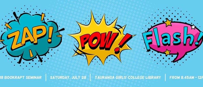 Bookrapt Seminar: Zap! Pow! Flash!