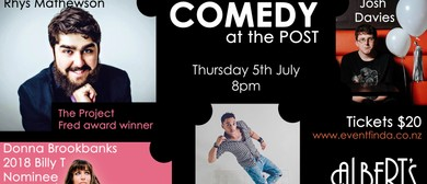 Comedy at the Post July