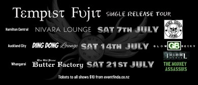 Tempist Fujit - Single Release Tour
