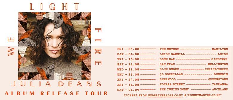 Julia Deans - We Light Fire Album Release Tour