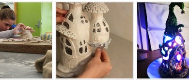 Fairy/Dragon House Lamps (3 days) with Rix Meaker (RMH3)