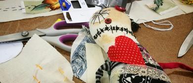 Sew-Pocalypse Zombie doll with Karen Williamson (KWH3.2)