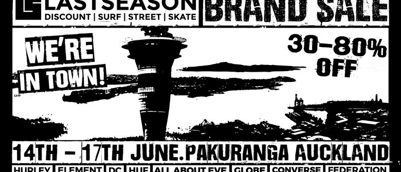 Last Season Surf, Street Skate Clothing Pop Up