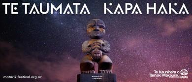 Matariki Festival 2018: Te Taumata Kapa Haka - Wahine Toa