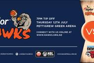 Taylor Hawks v Canterbury Rams
