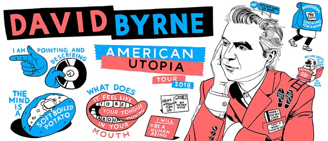 David Byrne - American Utopia NZ Tour