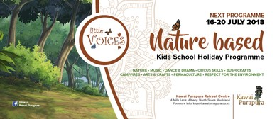 Little Voices - Nature Based Kids School Holiday Program