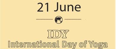 21 June - International Day of Yoga