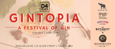 Gintopia - A Festival of Gin