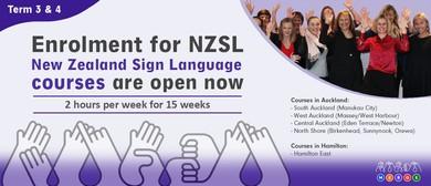 NZ Sign Language - Beginner 1