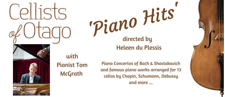 Cellists of Otago's 'Piano Hits'