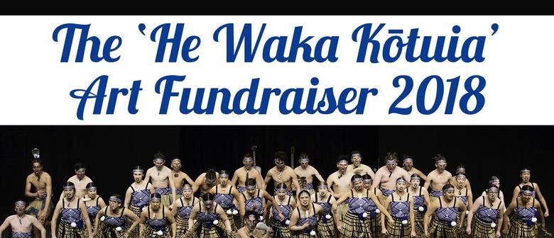 He Waka Kotuia Art Fundraiser 2018