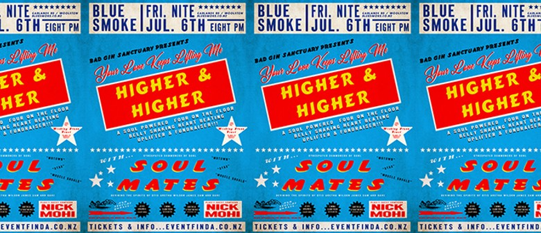 Higher & Higher - Fundraising Concert