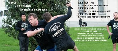 Intensive Krav Maga Self Defence Course