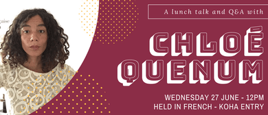 Lunch Talk with Chloé Quenum