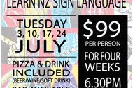 Learn NZ Sign Language - Sign 'n Dine
