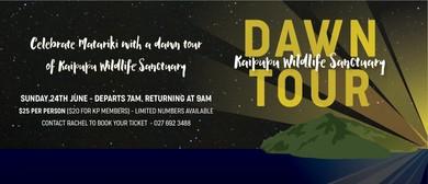 Kaipupu Wildlife Sanctuary Dawn Tour