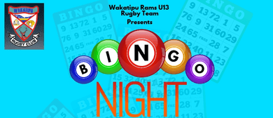Wakatipu Rams  Bingo Night