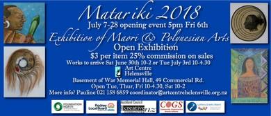 Matariki Festival 2018 Exhibition of Maori & Polynesian Arts