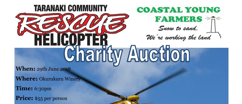 Taranaki Rescue Helicopter Charity Auction