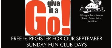 New Riders Sunday Fun Club Days