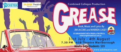 Grease – A Combined Colleges Production