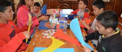 July School Holiday Drop-In Craft Activities - Matariki Kite