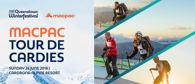 Macpac Tour de Cardies: CANCELLED