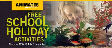 Animates Anzac Parade - School Holiday Activities