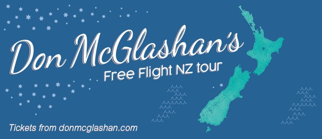 Don McGlashan - Free Flight NZ Tour