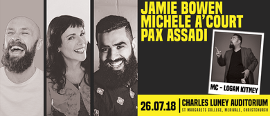 Jamie Bowen, Michele A'Court and Pax Assadi - CHCH