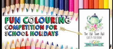 School Holiday Colouring Competition
