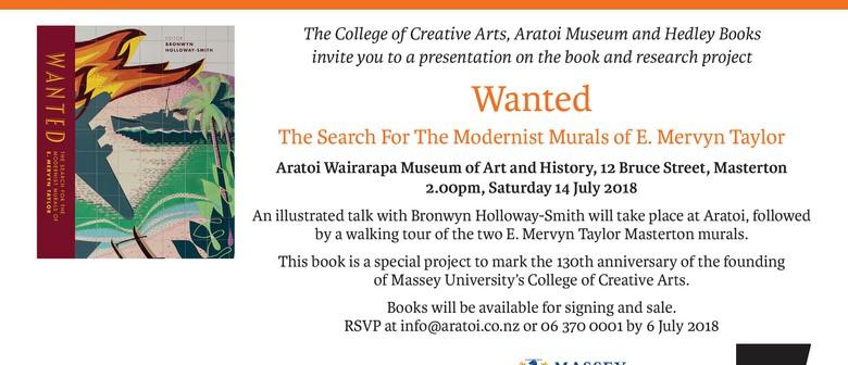 Wanted - Book Talk & Mural Walk