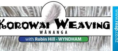 Wyndham Beginners Korowai Weaving Wananga