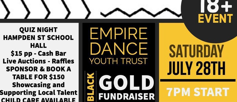 Empire Youth Trust Black and Gold Quiz Night