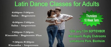 Adult Latin Dance Classes with Salsa Groove