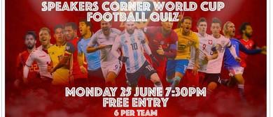 Speakers Corner World Cup Quiz