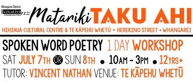 Taku Ahi - Spoken Word Poetry Open Workshop