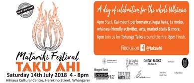 Matariki Festival - Taku Ahi