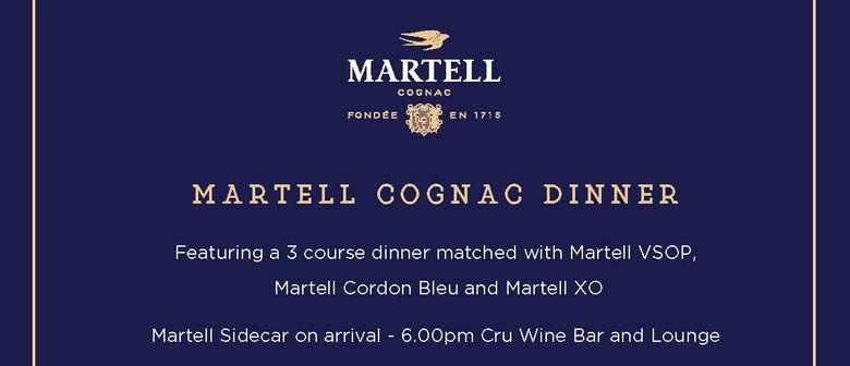 Martell Cognac Dinner